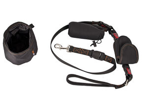 Rac Multi Functional Dog Lead, Phone Holder And Bowl