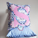 The Personalised Kitsch Alphabet Cushion Collection