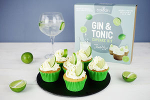 Gin And Tonic Cupcake Kit - make your own kits