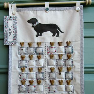 Personalised Dog Advent Calendar