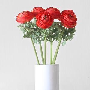Artificial Red Ranunculus - weddings sale