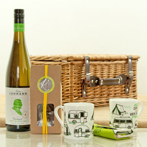 Australian Dry Riesling In The Camper Van Hamper