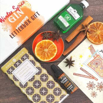 Winter Spiced Gin Letterbox Gift