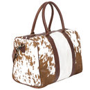 Cortes Compact Weekender Animal Print/Natural Pony Fur