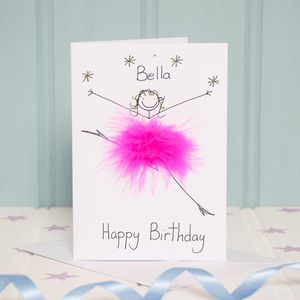 Handmade Personalised Happy Birthday Card