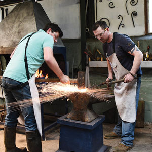 Couples Day Date Blacksmithing At Oldfield Forge - gifts for couples