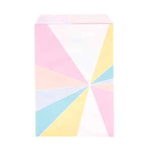 Pastel Patterned Paper Bags