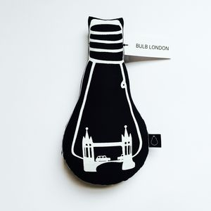 Tower Bridge Bulb Cushion