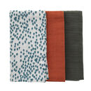 Nordic Forest Muslin Squares Triple Pack