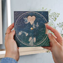 Personalised Family Memories Planisphere