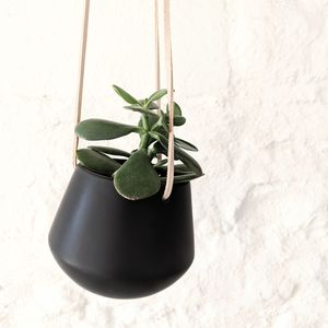 Ceramic Hanging Plant Pot - home accessories