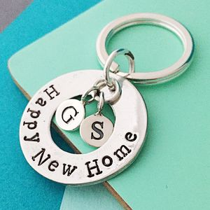 Happy New Home Keyring - housewarming gifts