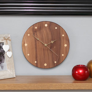 Handmade Wood Wall Clock - whatsnew