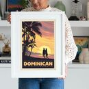 Dominican Republic Travel Print