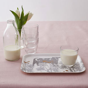 Cow And Buttercup Tray