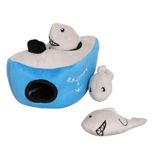 Hide And Seek Shark Interactive Dog Toy