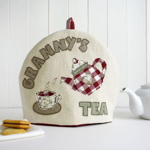 Personalised Name Tea Cosy - gifts for grandparents