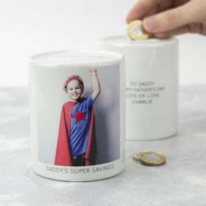 Personalised Photograph Money Box