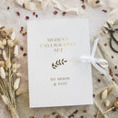 Gift Boxed Modern Calligraphy Set With Gold Ink Palette