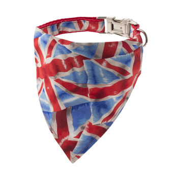 Union Jack Bandana Dog Collar
