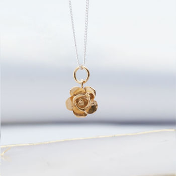 English Rose Gold Necklace