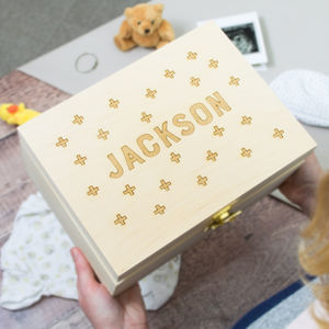 Scandi Baby Keepsake Box