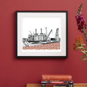 Battersea Power Station Screen Print