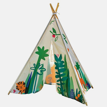 Children's Jungle Play Teepee Tent