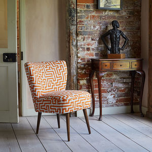 The New Genovesa Chair In Christopher Farr Meander - kitchen