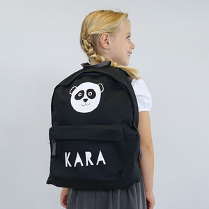 Personalised Panda Children's School Backpack - bags, purses & wallets