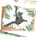 Top Koalatea Greeting Card