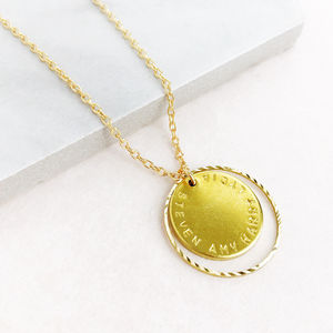 Personalised Family Disc Necklace - gifts for families