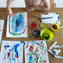 'Female Role Model' Sibling Art Subscription