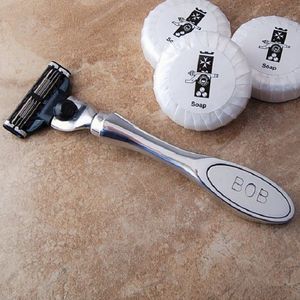Personalised Men's Pewter Razor - gifts for him