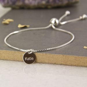 Sterling Silver Adjustable Sliding Bracelet - bracelets & bangles