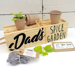 Personalised Window Box With Spice Selection Seeds - window boxes
