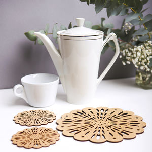 Magical Morning Placement And Coaster Gift Set