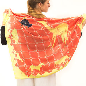 'How The Camel Got His Hump' Silk Scarf