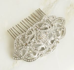 Deco Inspired Hair Comb - women's jewellery