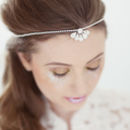 Clemise Crystal Bridal Browband