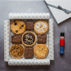 Personalised Millionaire In A Tea Time Selection Box - gluten free food gifts