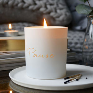 Pause Scented Candle - the candle emporium