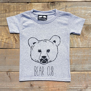 Bear Cub T Shirt - gifts for children