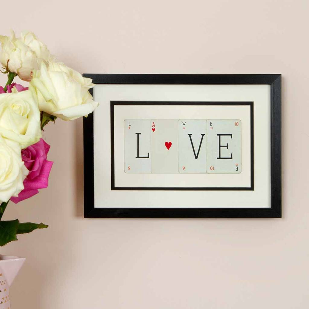 Valentine Love Frame With Heart