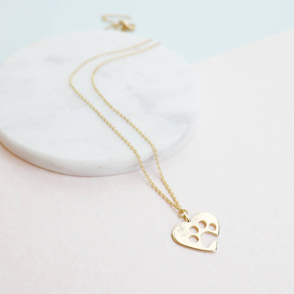 image the lotus factory adorable necklace products product paw print