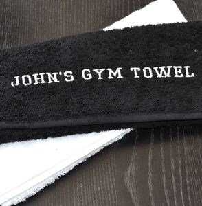 Personalised Gym Towel - handkerchiefs