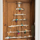 Wooden Snowy Branch Christmas Tree