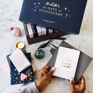 24 Days Of Stationery Advent Calendar - gifts for her