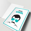 'Daddy Cool' Illustrated Fathers Day Card