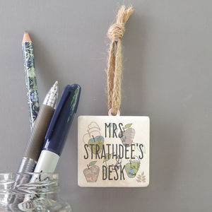 Personalised Teacher Hanging Decoration - decorative accessories